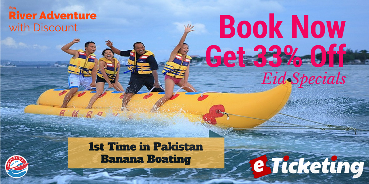 Banana Boating Tickets