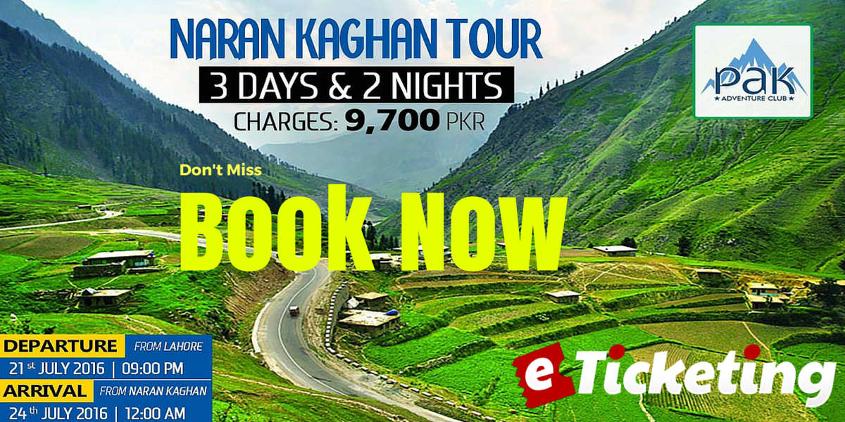 Trip To Naran Kaghan Tickets