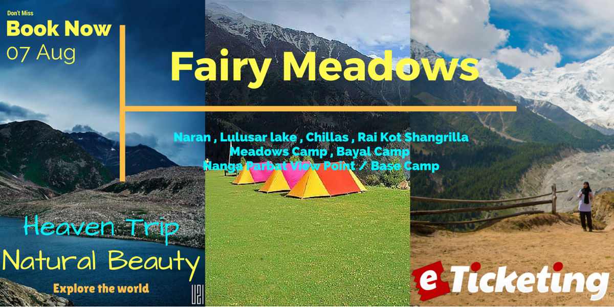Trip To Fairy Meadows Tickets
