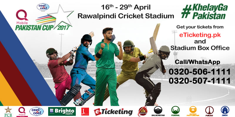 Pakistan Cup Tickets