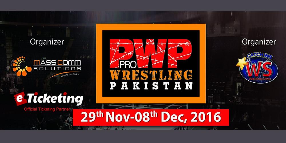 Pro Wrestling Pakistan Day 1 Tickets