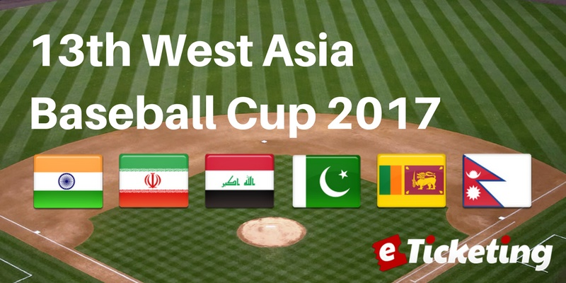 Nepal West Asia Baseball Cup Tickets