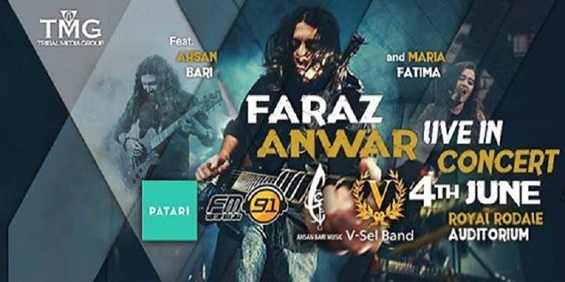 Faraz Anwar Tickets