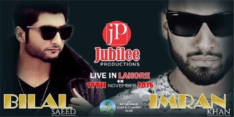 Bilal Saeed And Imran Khan Tickets