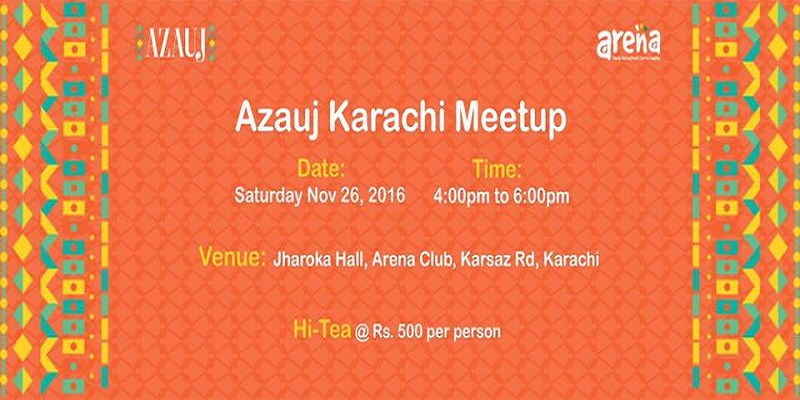 Azauj Karachi Meetup Tickets