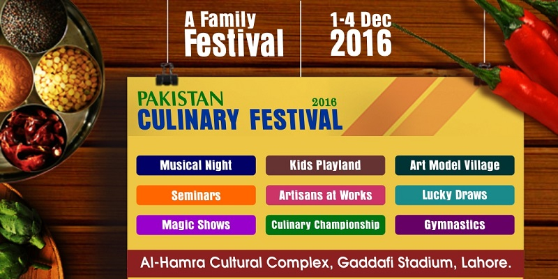 Pakistan Culinary Festival Tickets