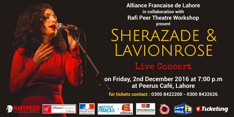 Sherazade And LavionRose Tickets