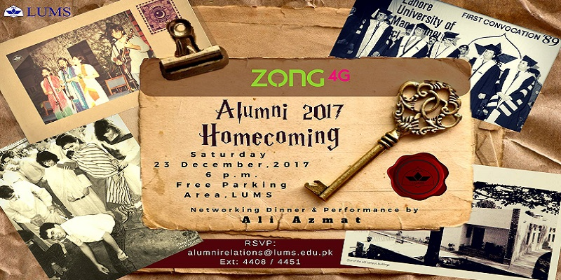 LUMS Alumni Homecoming Tickets