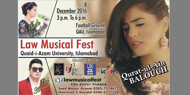 Law Musical Fest Tickets