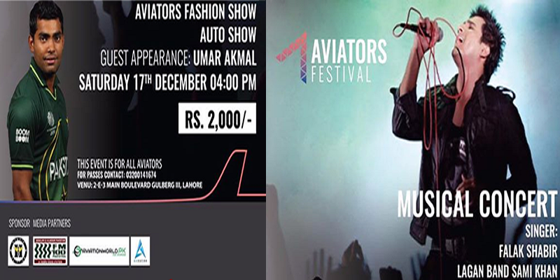 Aviators Festival Tickets