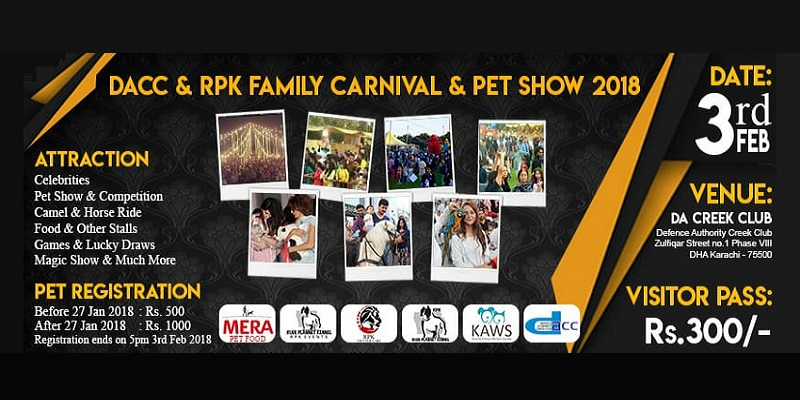 Family Carnival And Pet Show Tickets