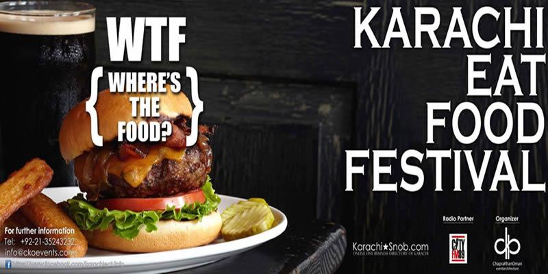 Karachi Eat Food Festival Tickets