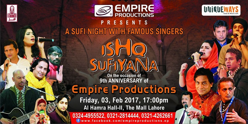 Ishq Sufiyana Tickets