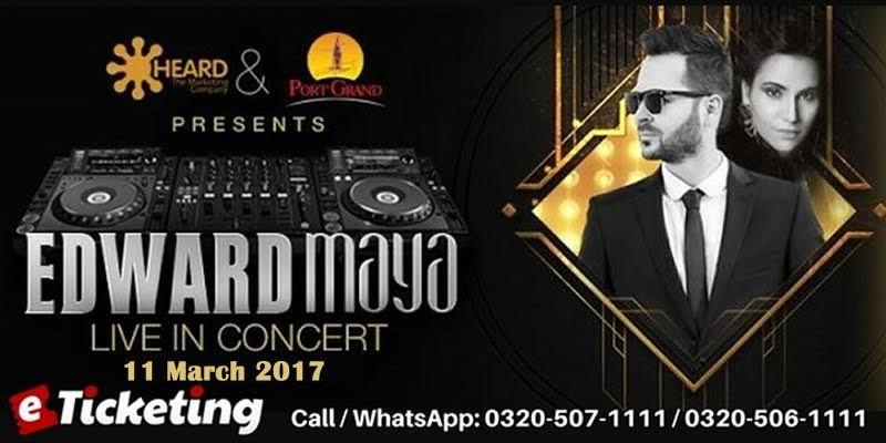 Edward Maya Live In Karachi Tickets