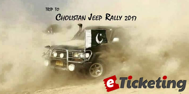 Trip To Cholistan Jeep Rally Tickets