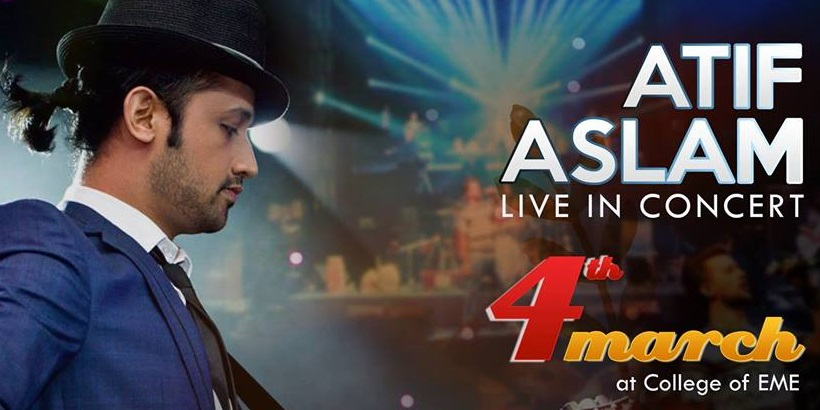 Atif Aslam Live In Concert Tickets