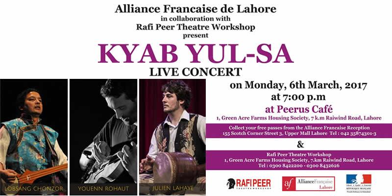 Kyab Yul Sa Tickets