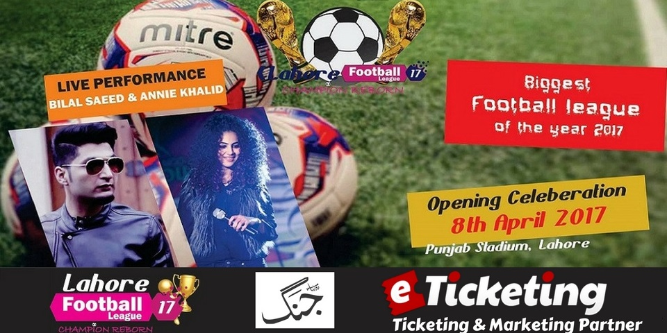 Lahore Football League Tickets