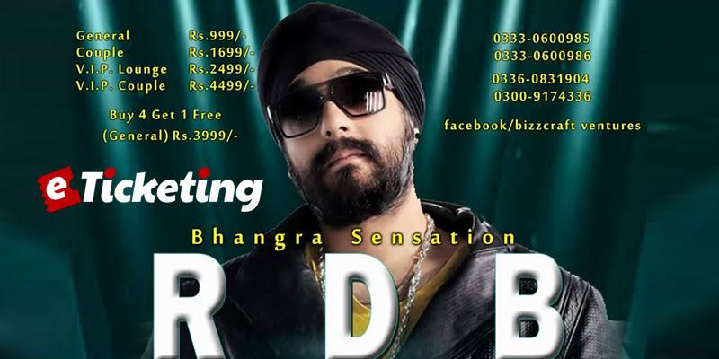 RDB Live Concert Tickets