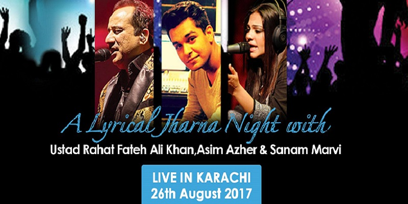 Lyrical Jharna Night Tickets