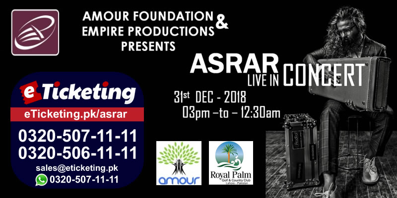 Asrar Tickets