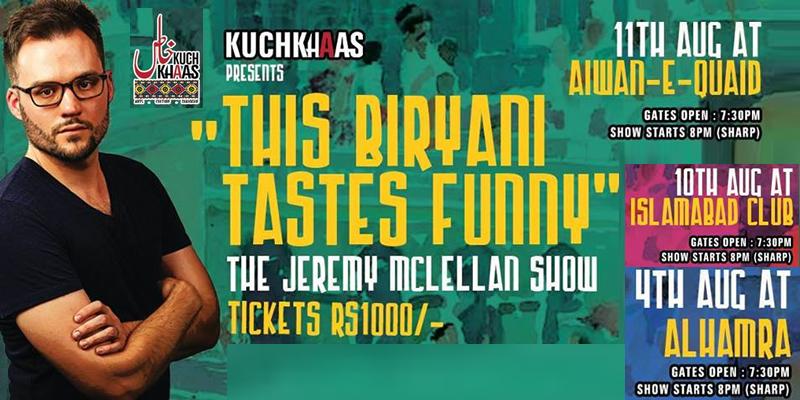 This Biryani Tastes Funny Tickets