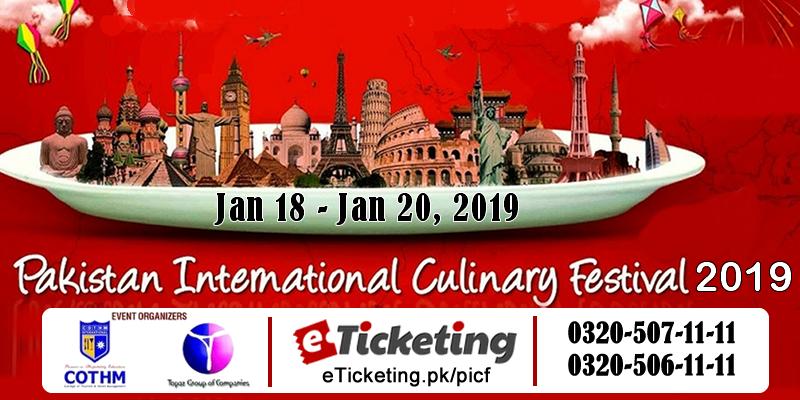 Pakistan International Culinary Festival Tickets