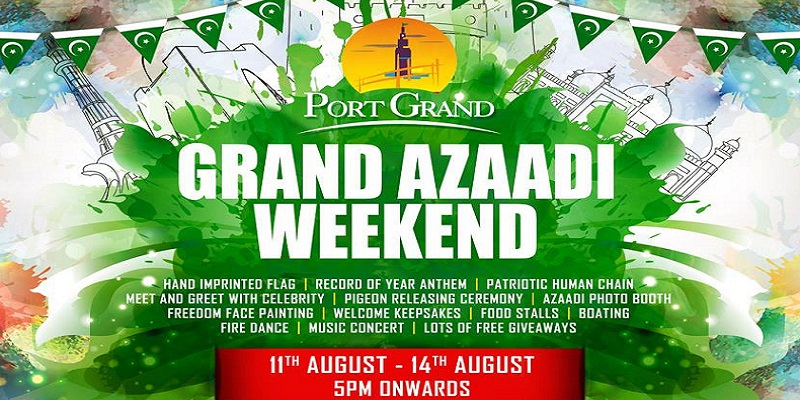 Grand Azaadi Weekend Tickets