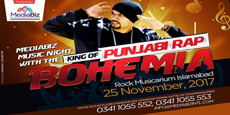 Musical Night With Bohemia Tickets