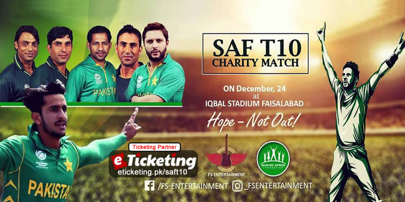 SAF Charity Match Tickets