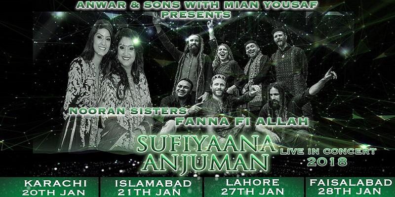Sufiyana Anjuman Tickets