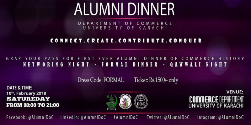 Alumni Dinner Tickets