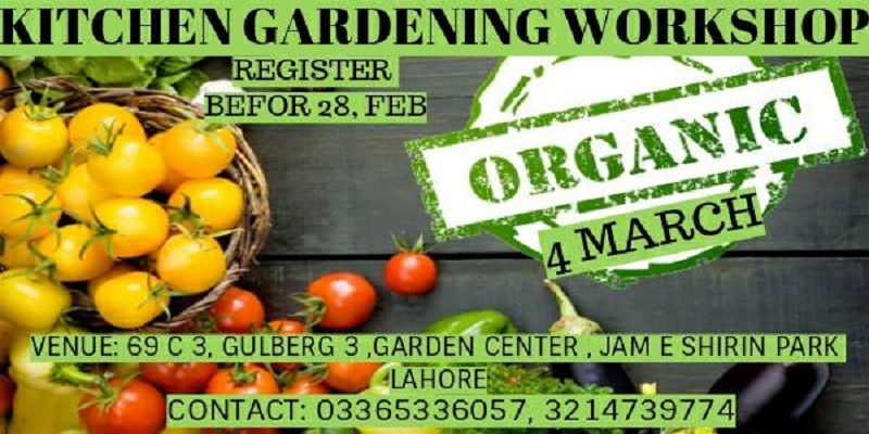 Kitchen Gardening Workshop Tickets