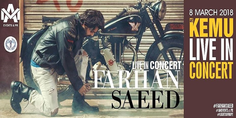 Farhan Saeed Live At KEMU Tickets