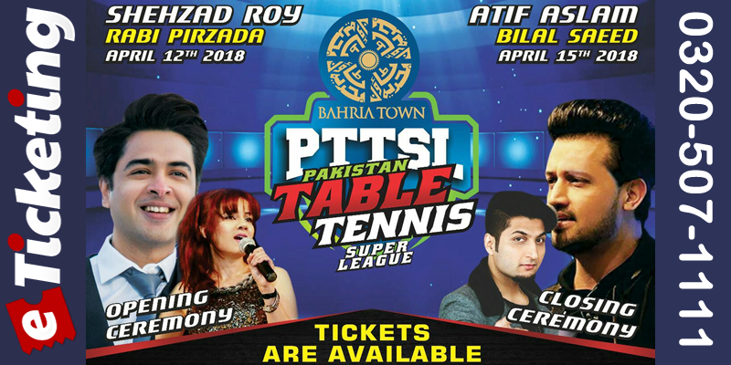Pakistan Table Tennis Super League Tickets