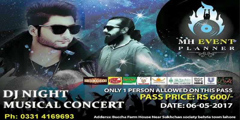 DJ Night With Bilal Saeed Tickets