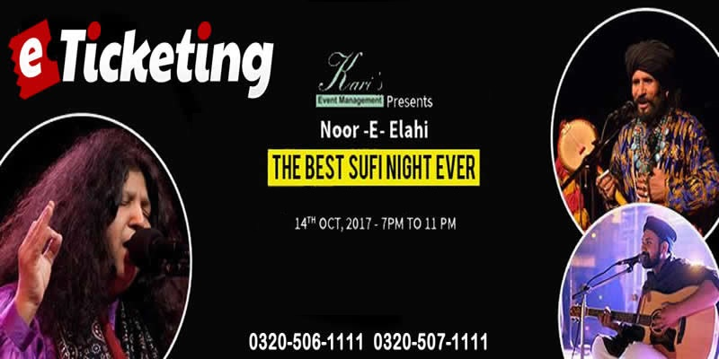 Noor E Elahi  Tickets