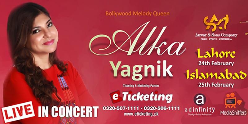 Alka Yagnik Live Concert Tickets
