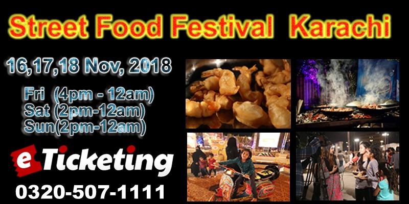 Karachi Street Food Festival 2018 Tickets