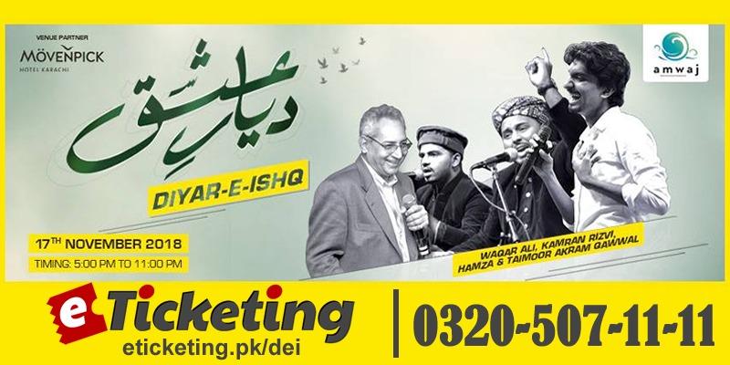 Diyar E Ishq Tickets