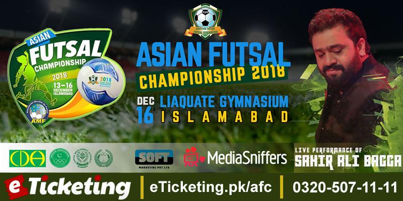 Asian Futsal Championship - Closing Ceremony Tickets