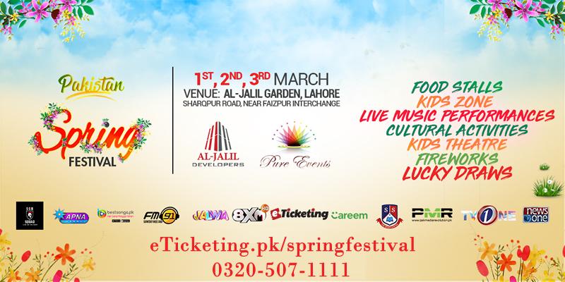 Pakistan Spring Festival Tickets