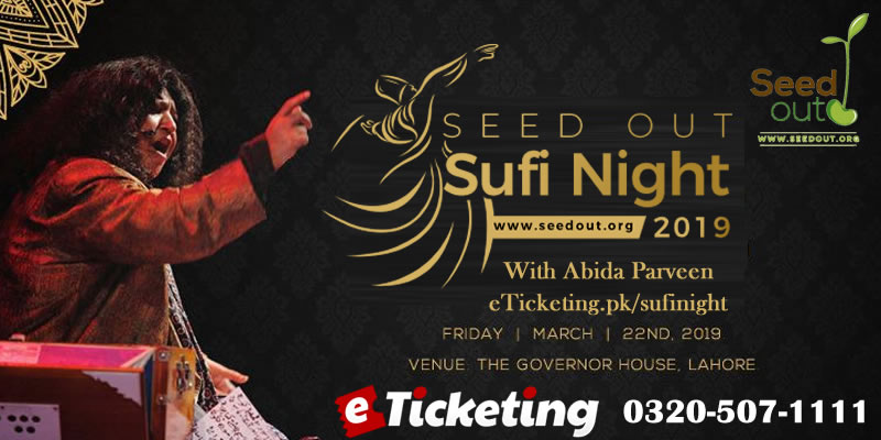 Seed Out Sufi Night Tickets