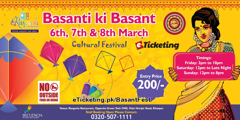 Basant Fest Tickets