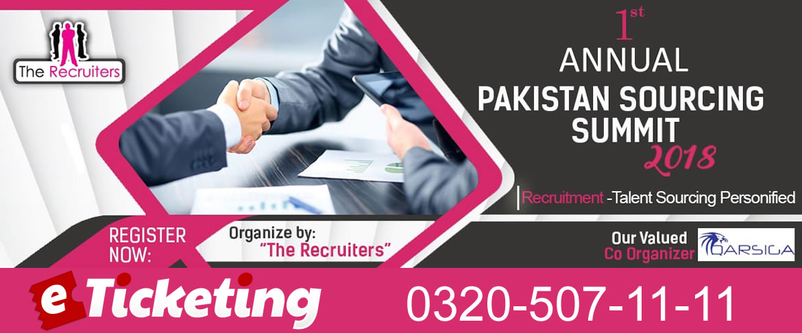 1st annual pakistan sourcing summit 2018
