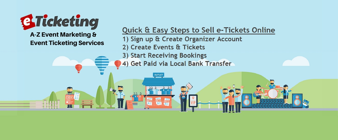 Sell eTickets for Events in Pakistan