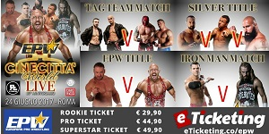 European Pro Wrestling (EPW) Live @ Cinecitta World, Rome, Italy