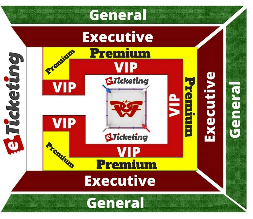 Liaquat Gymnasium Seating Plan