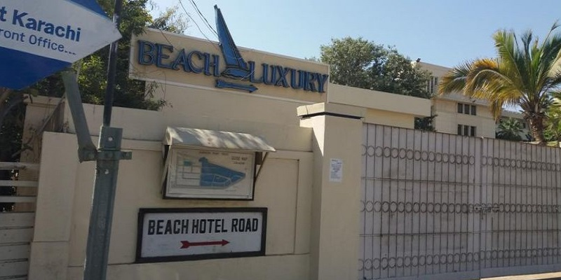 Beach Luxury Hotel Seating Plan